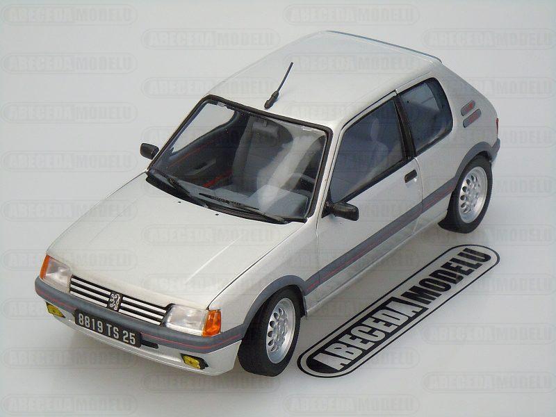 Norev 1:18 Peugeot 205 GTI 1.6 1988 (silver) code Norev 184852, modely aut