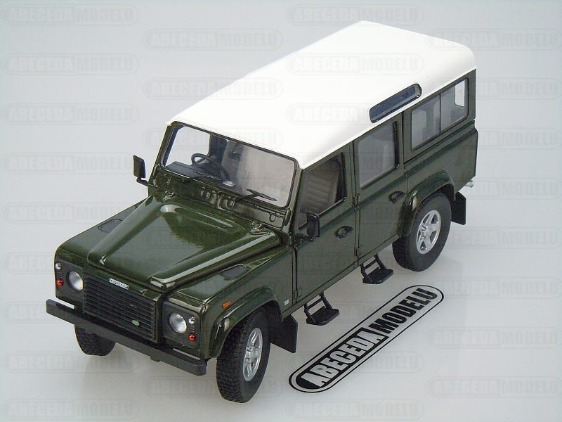 Universal Hobbies 1:18 Land Rover Defender 110 Station Wagon (green) code 3887, modely aut