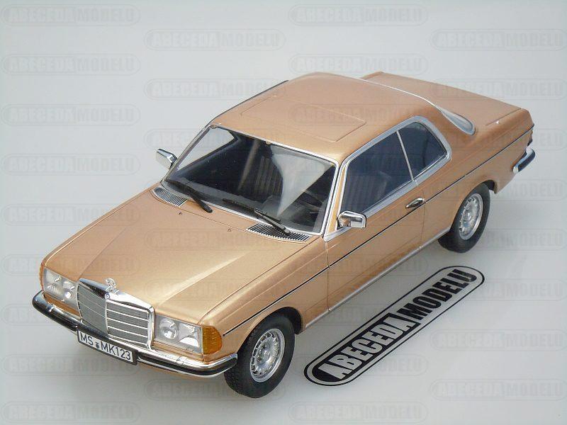 Norev 1:18 Mercedes Benz 280 CE 1980 (gold) code Norev 183587, modely aut