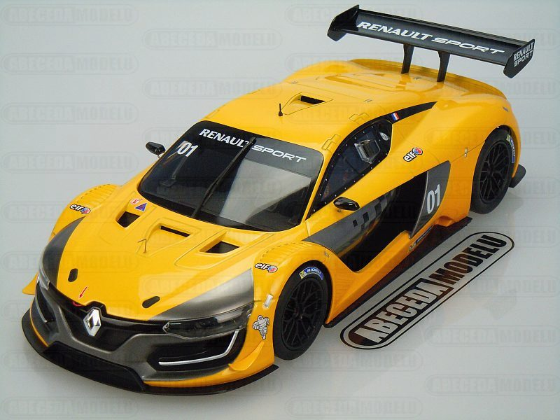Norev 1:18 Renault R.S. 01 2015 (yellow) code Norev 185135, modely aut