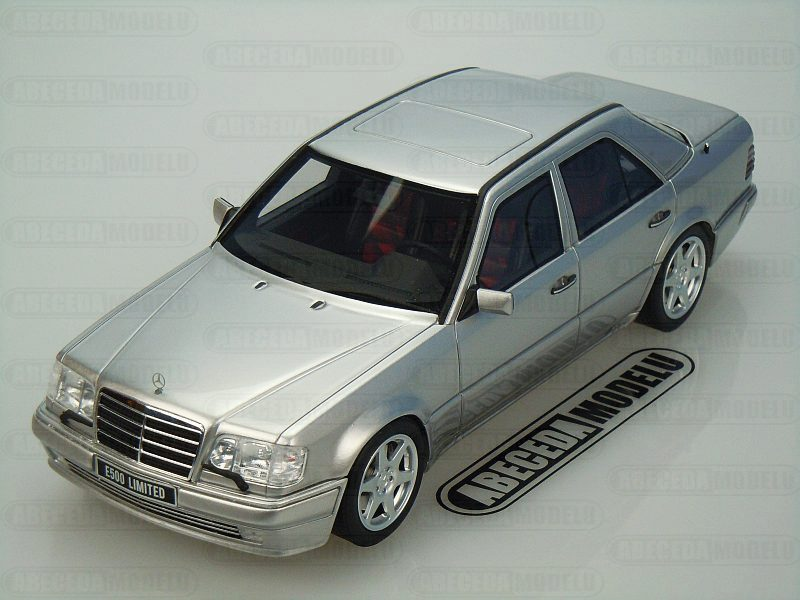 Otto Mobile 1:18 Mercedes Benz E500 Limited (silver) code Otto OT623, modely aut