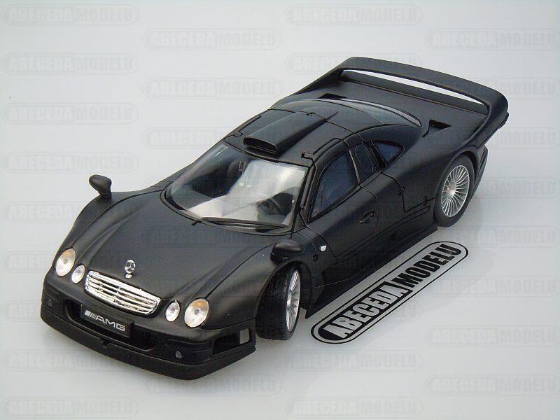 Maisto 1:18 Mercedes Benz CLK-GTR Street Version (black matt) code Maisto 36849