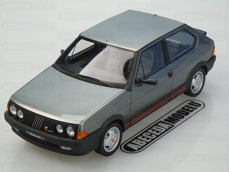 Laudoracing-Models 1:18 Fiat Ritmo 130 TC Abarth 1983 (grey) LM100B, modely aut