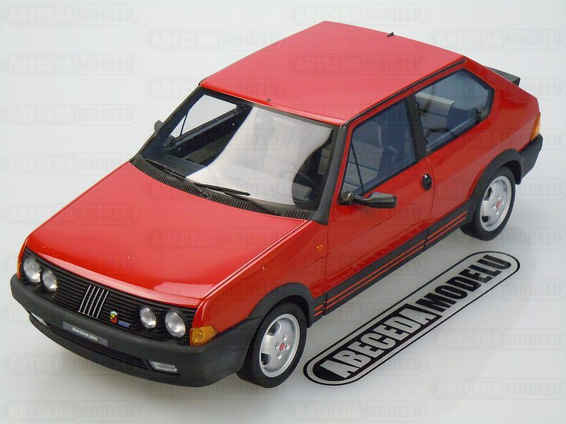 Laudoracing-Models 1:18 Fiat Ritmo 130 TC Abarth 1983 (red) LM100, modely aut