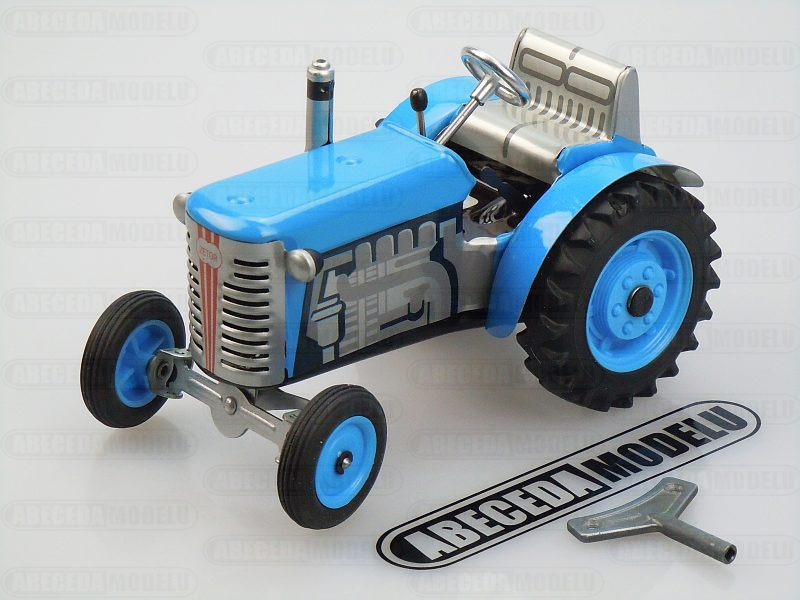 Kovap 1:25 Traktor Zetor 15cm (blue) code Kovap 0380M, plechový model