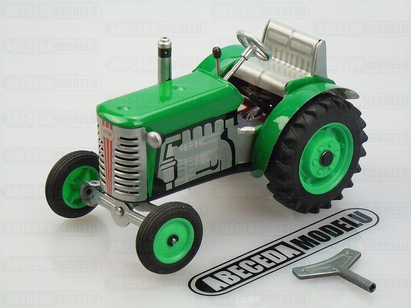 Kovap 1:25 Traktor Zetor 15cm (green) code Kovap 0380Z, plechový model