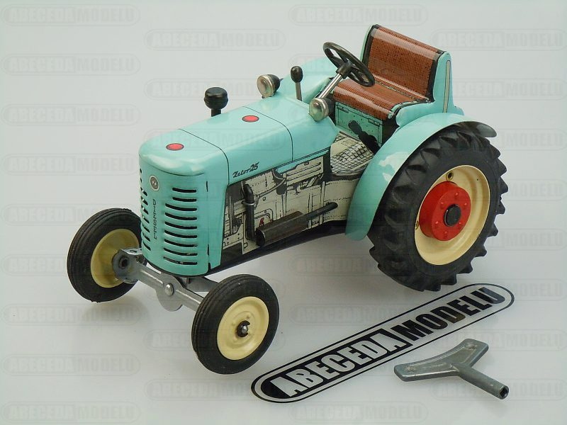 Kovap 1:25 Traktor Zetor 25 (blue) code Kovap 0384, plechový model