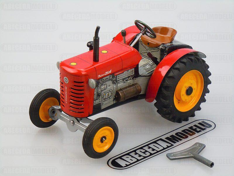 Kovap 1:25 Traktor Zetor 25A (red) code Kovap 0373, plechové hračky