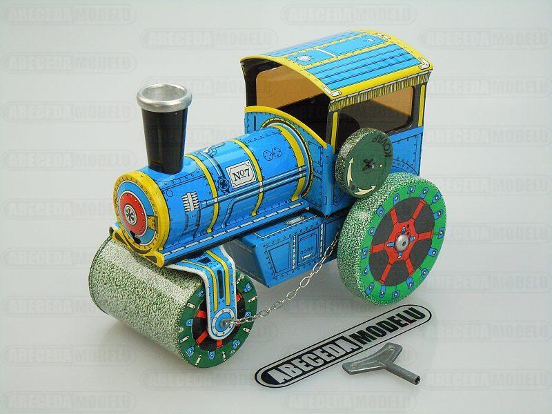 Kovap Silniční Válec 1927 (retro) blue code Kovap 0600, plechové hračky