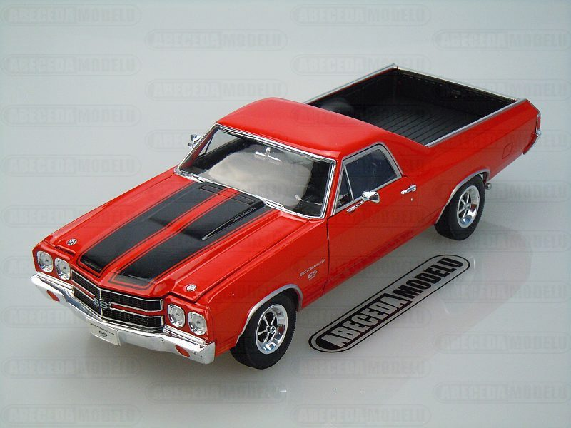 Welly 1:18 Chevrolet El Camino 1970 (red) code Welly 12543, modely aut