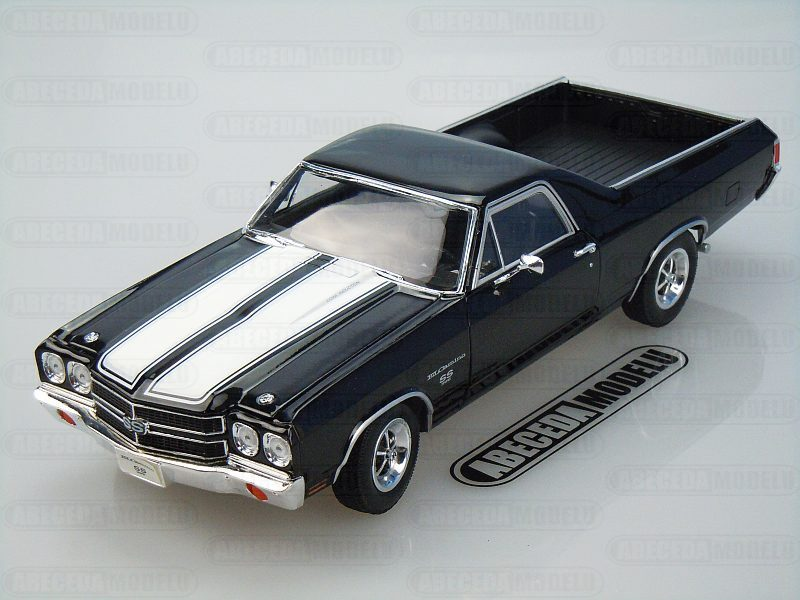 Welly 1:18 Chevrolet El Camino 1970 (black) code Welly 12543, modely aut