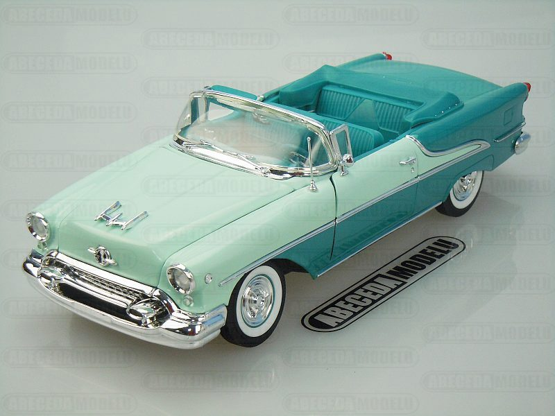 Welly 1:18 Oldsmobile Super 88 1955 (green) code Welly 19869, modely aut