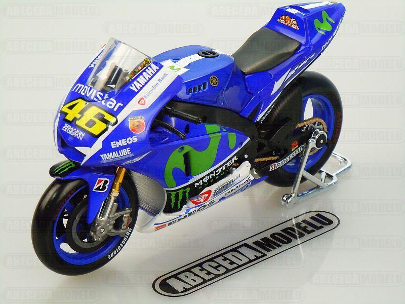 Maisto 1:10 Yamaha YZR-M1 No.46 V.Rossi 2015 MotoGP code Maisto 31407, model motocyklu