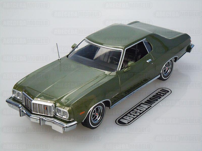 Greenlight 1:18 Ford Gran Torino 1976 (green) code Greenlight 19018, modely aut