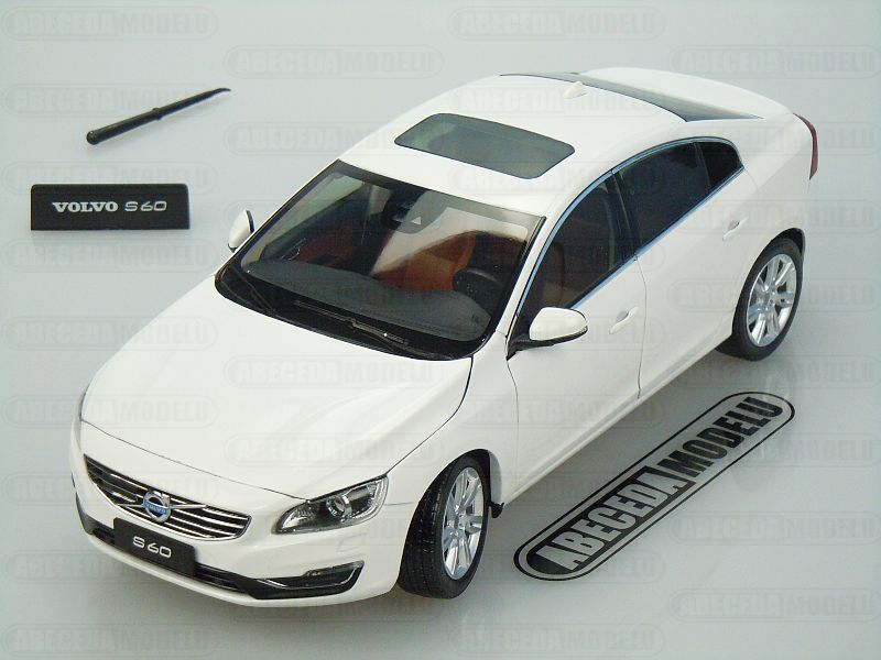 Motor City Classics 1:18 Volvo S60 2015 (Crystal White Pearl) code 88151, modely aut
