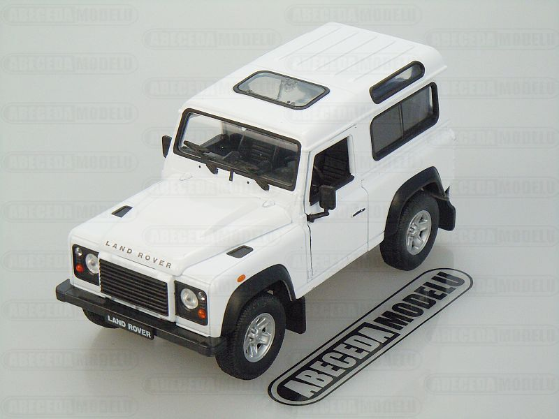 Welly 1:24 Land Rover Defender (white) code Welly 22498, modely aut