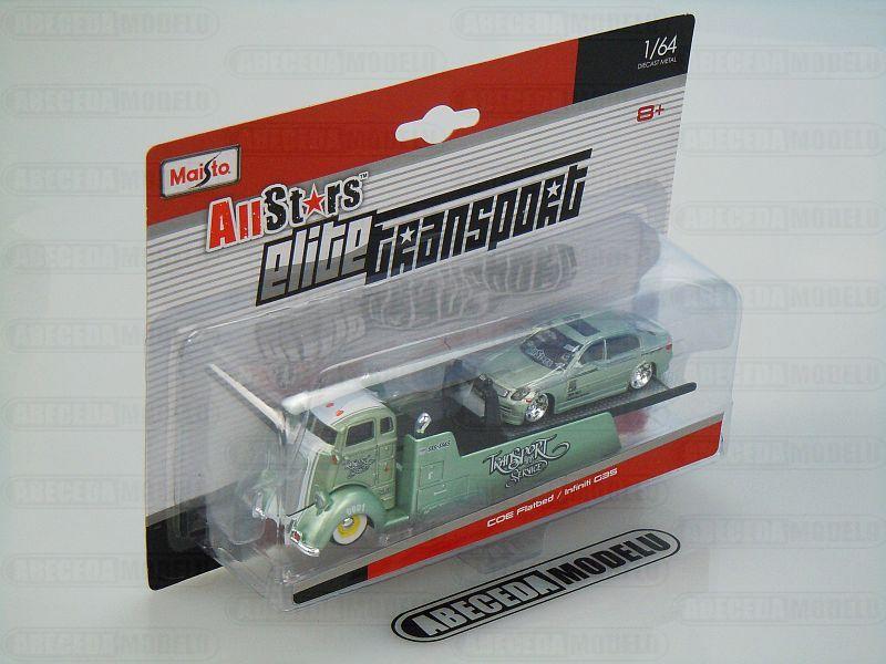 Maisto 1:64 Elite Transport COE/ Infiniti G35 code Maisto 15055, modely aut
