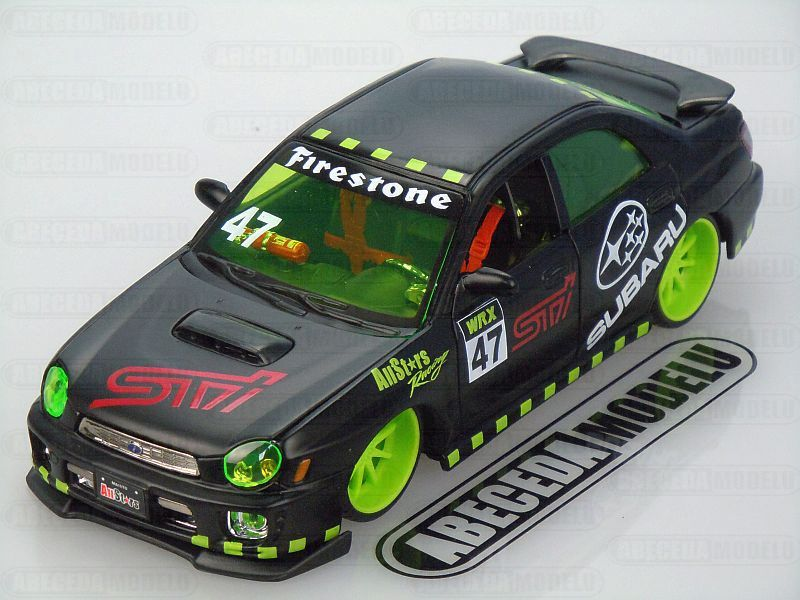 Maisto 1:24 Subaru Impreza WRX Custom (black) code Maisto 32095, modely aut