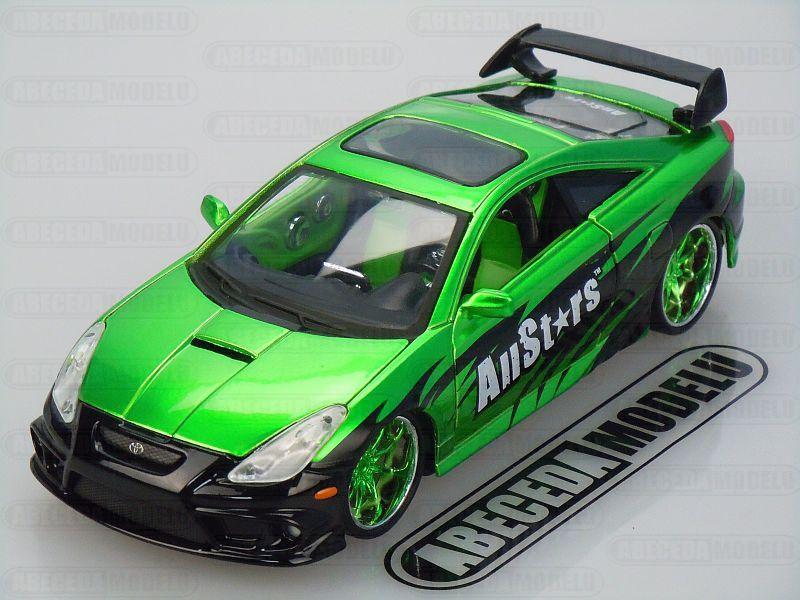 Maisto 1:24 Toyota Celica GT-S Custom (green) code Maisto 32096, modely aut