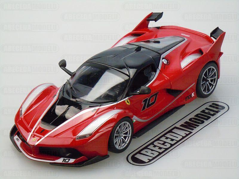 Bburago 1:24 Ferrari FXX K (red) code Bburago 26301, modely aut