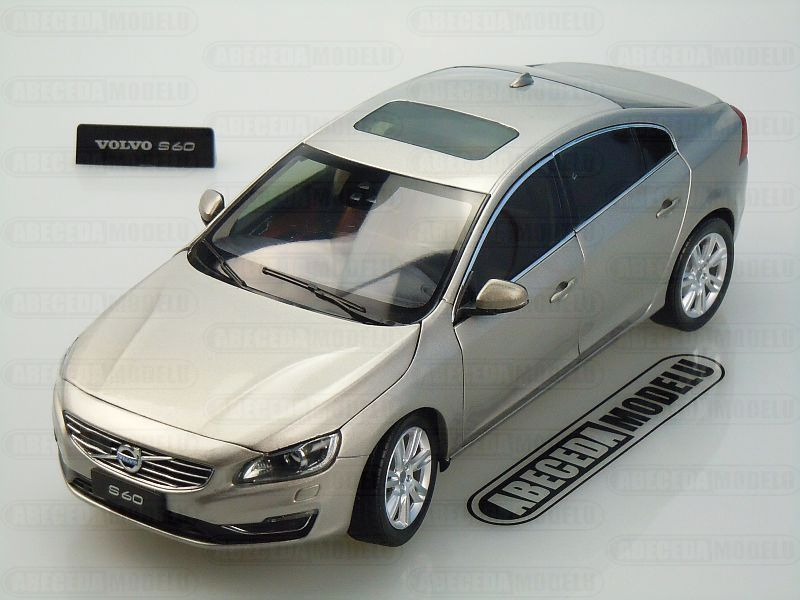 Motor City Classics 1:18 Volvo S60 2015 (Seashell Metallic) 88150, modely aut