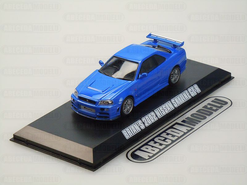 Greenlight 1:43 Nissan Skyline GT-R 2002 Brian's Fast & Furious 4 code Greenlight 86219, modely aut