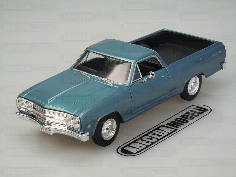 Maisto 1:24 Chevrolet El Camino 1965 (blue) code Maisto 31977, modely aut
