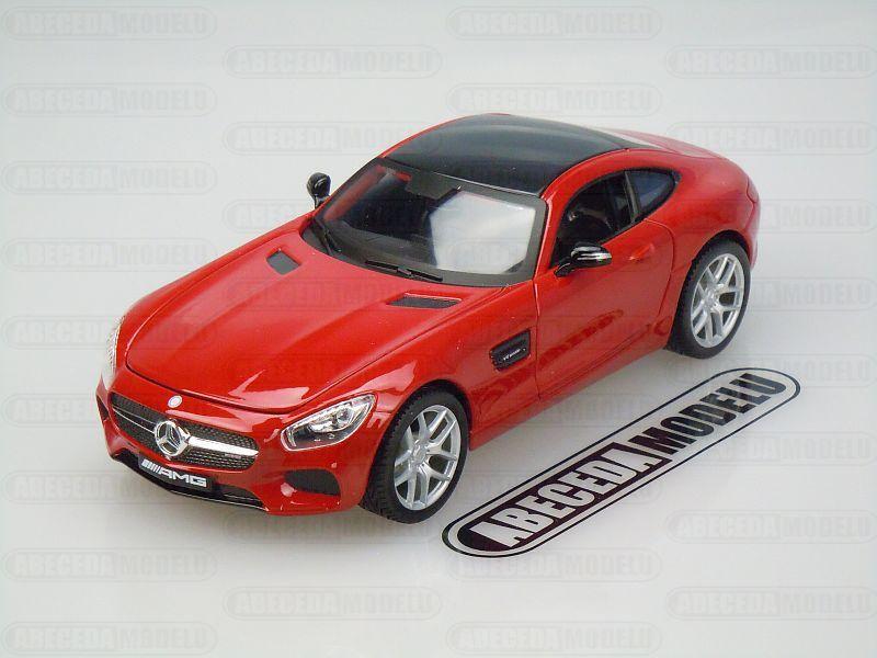 Maisto 1:24 Mercedes Benz AMG GT (red) code Maisto 31134, modely aut