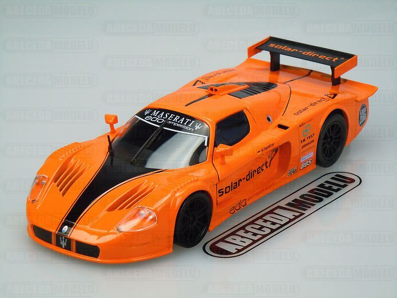 Bburago 1:24 Maserati MC12 Solar-direct (orange) code Bburago 21078, modely aut