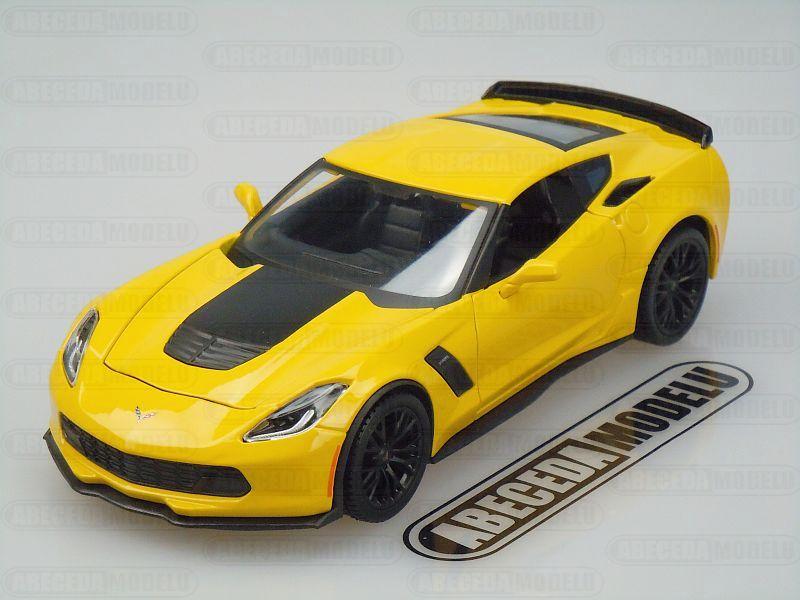 Maisto 1:24 Chevrolet Corvette Z06 2015 (yellow) code Maisto 31133, modely aut