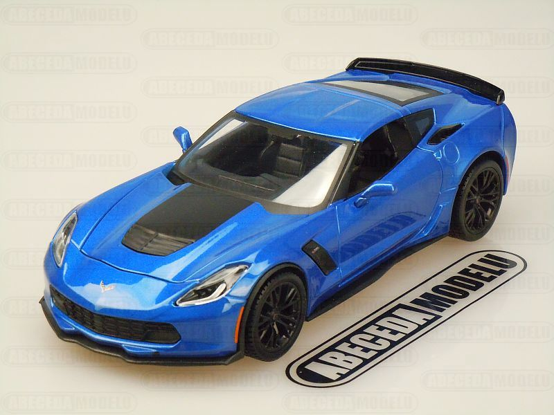 Maisto 1:24 Chevrolet Corvette Z06 2015 (blue) code Maisto 31133, modely aut