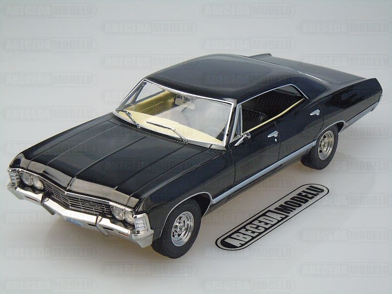 Greenlight 1:18 Chevrolet Impala Sport Sedan 1967 Supernatural Join The Hunt (televizni serial lovci duchů) code Greenlight 19021, modely aut