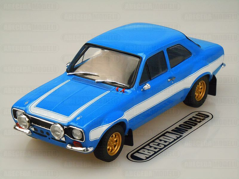 Greenlight 1:18 Ford Escort RS2000 MKI 1974 Fast & Furious 6 Brian code Greenlight 12800, modely aut