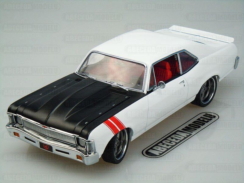 GMP 1:18 Chevrolet Nova 1970 Overkill code GMP 18811, modely aut