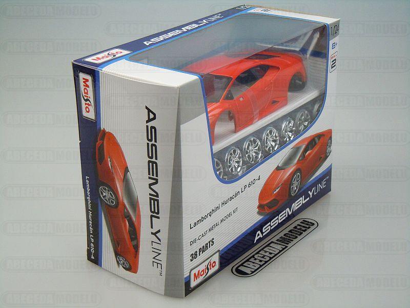 Maisto 1:24 Lamborghini Huracán LP 610-4 Kit (red) code Maisto 39509, modely aut