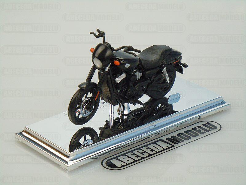 Maisto 1:18 Harley Davidson Street 750 2015 (black) code Maisto 15962, model motocyklu