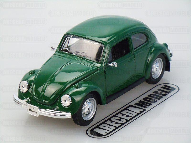 Maisto 1:24 VW Volkswagen Beetle 1973 (green) code Maisto 31926, modely aut