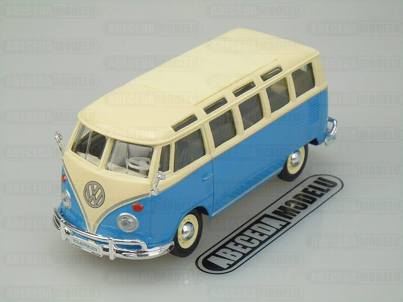 Maisto 1:24 Volkswagen Van Samba (blue) code Maisto 31956, modely aut