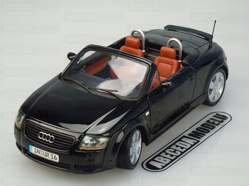 Maisto 1:18 Audi TT Roadster (black) code Maisto 31878, modely aut