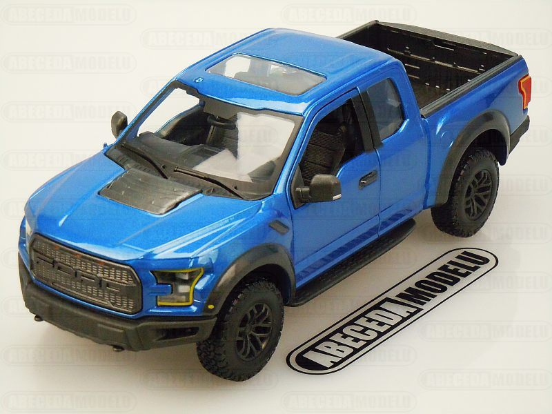Maisto 1:24 Ford Raptor 2017 (blue) code Maisto 31710, modely aut