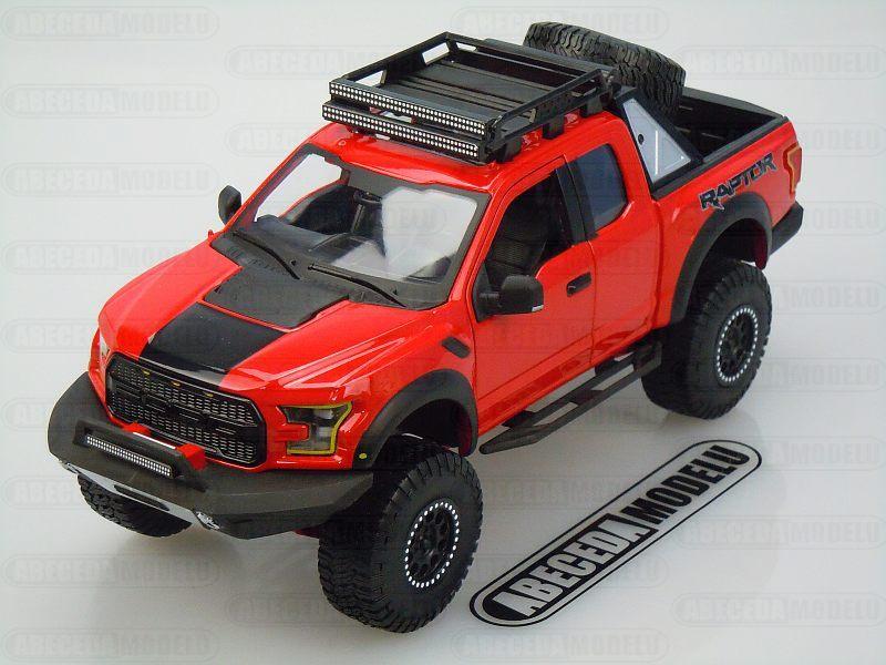 Maisto 1:24 Ford F-150 Raptor 2017 (red) code Maisto 32520, modely aut