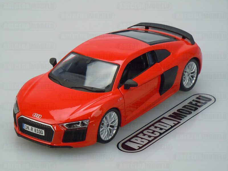 Maisto 1:24 Audi R8 V10 Plus (red) code Maisto 31513, modely aut