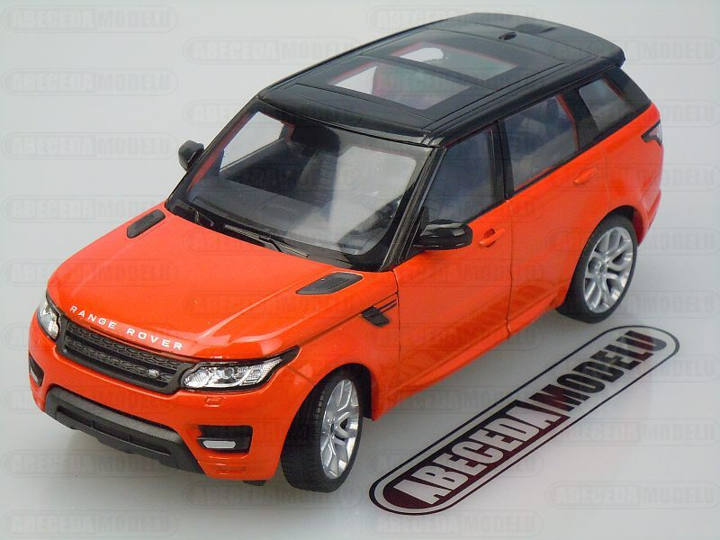 Welly 1:24 Land Rover Range Rover Sport (orange) code Welly 24059, modely aut