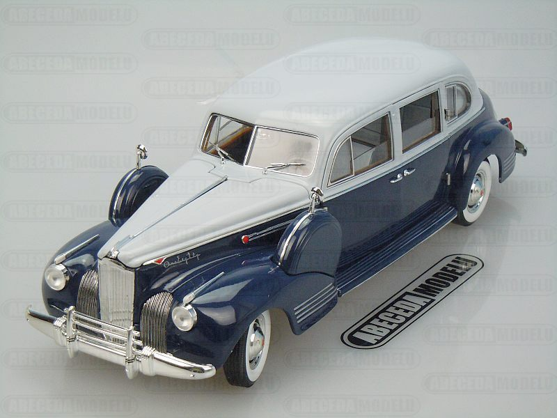 Greenlight 1:18 Packard Super Eight One Eighty 1941 (blue) code Greenlight 12970, modely aut