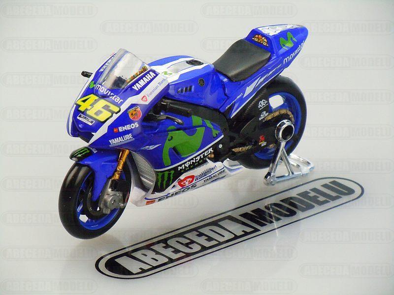 Maisto 1:18 Yamaha YZR-M1 V.Rossi No.46 MotoGP 2016 code Maisto 39590, model motocyklu