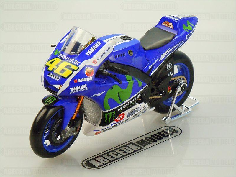 Maisto 1:10 Yamaha YZR-M1 No.46 V.Rossi 2016 MotoGP code Maisto 31408, model motocyklu