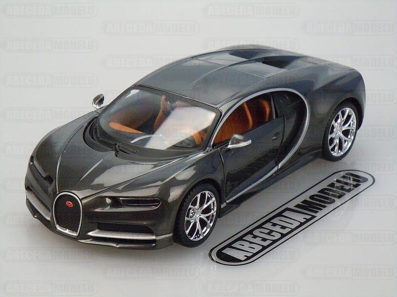 Maisto 1:24 Bugatti Chiron (grey) code Maisto 31514, modely aut