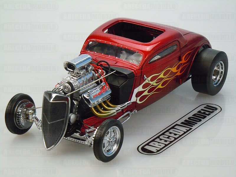 GMP 1:18 Ford Nitro Coupe 1934 (red) code GMP 18816, modely aut
