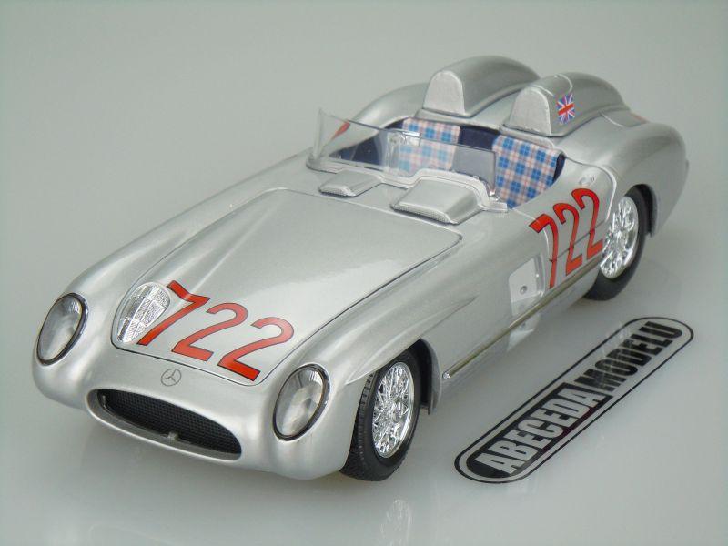 Bburago 1:18 Mercedes Benz 300 SLR M.M. 1955 (silver) code Bburago 12054
