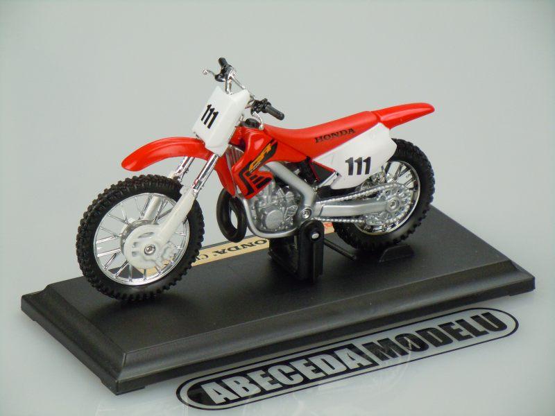 Maisto 1:18 Honda CR250R (red) code Maisto 39336, modely aut